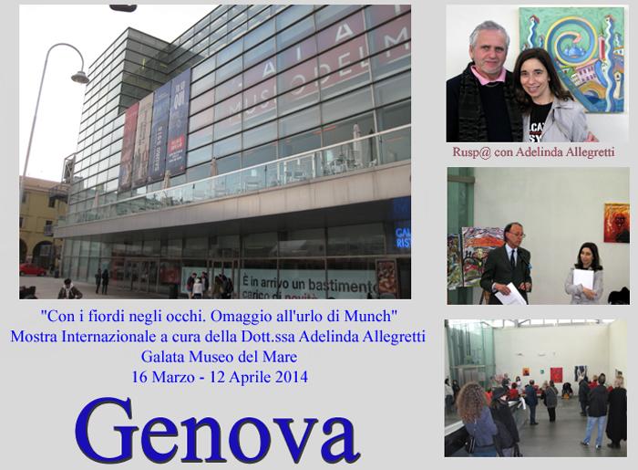 mostra a Genova