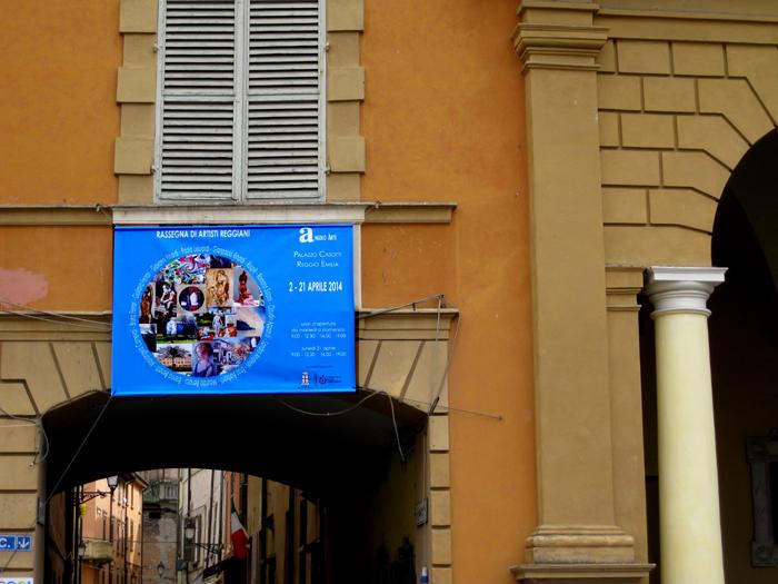 banner davanti al Municipio