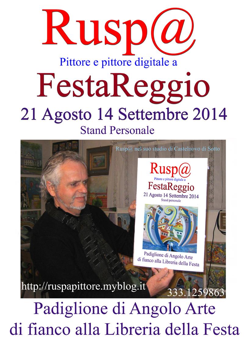 locandina Festa Reggio  on line